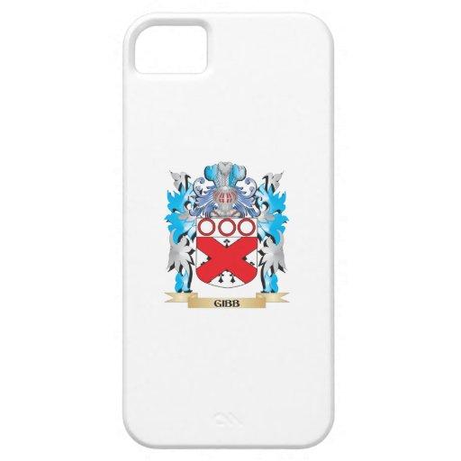Escudo de armas de Gibb - escudo de la familia iPhone 5 Case-Mate Carcasa