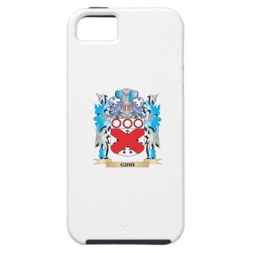 Escudo de armas de Gibb - escudo de la familia iPhone 5 Case-Mate Protectores