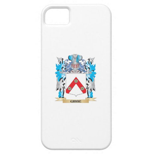Escudo de armas de Gibbe - escudo de la familia iPhone 5 Case-Mate Protector