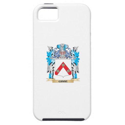 Escudo de armas de Gibbe - escudo de la familia iPhone 5 Case-Mate Carcasas