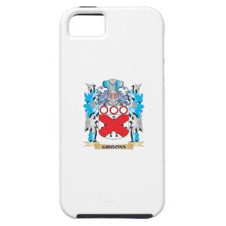 Escudo de armas de Gibbons - escudo de la familia iPhone 5 Case-Mate Protector