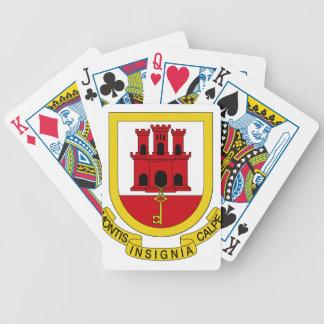 Escudo de armas de Gibraltar Baraja