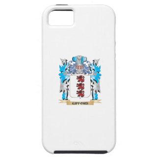 Escudo de armas de Gifford - escudo de la familia iPhone 5 Case-Mate Cárcasa
