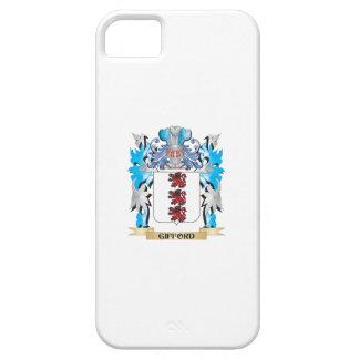 Escudo de armas de Gifford - escudo de la familia iPhone 5 Fundas