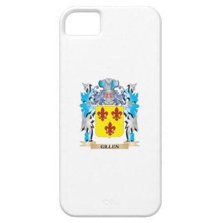 Escudo de armas de Gillen - escudo de la familia iPhone 5 Carcasas