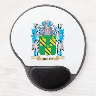 Escudo de armas de Gillet - escudo de la familia Alfombrilla Con Gel