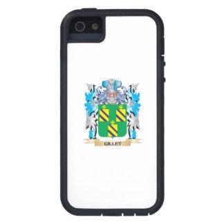 Escudo de armas de Gillet - escudo de la familia Funda Para iPhone 5 Tough Xtreme