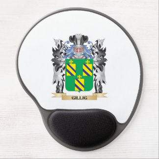 Escudo de armas de Gillig - escudo de la familia Alfombrilla De Ratón Con Gel