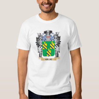 Escudo de armas de Gillig - escudo de la familia Camisas