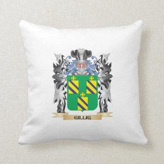 Escudo de armas de Gillig - escudo de la familia Cojines