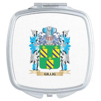 Escudo de armas de Gillig - escudo de la familia Espejos Para El Bolso