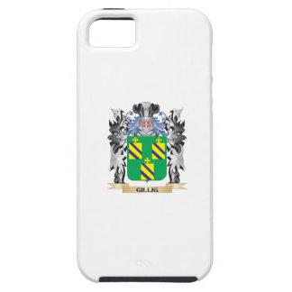 Escudo de armas de Gillig - escudo de la familia iPhone 5 Carcasas