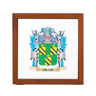 Escudo de armas de Gillig - escudo de la familia Portalápices