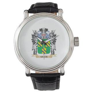Escudo de armas de Gillig - escudo de la familia Relojes De Mano