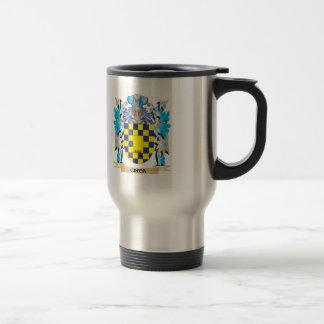 Escudo de armas de Giron - escudo de la familia Taza De Viaje De Acero Inoxidable