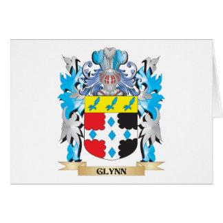 Escudo de armas de Glynn - escudo de la familia Tarjeta Pequeña