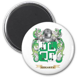 Escudo de armas de Gogarty (escudo de la familia) Imán Redondo 5 Cm