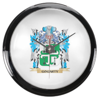 Escudo de armas de Gogarty - escudo de la familia Reloj Aquavista