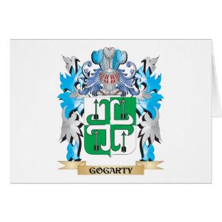 Escudo de armas de Gogarty - escudo de la familia Tarjeta Pequeña