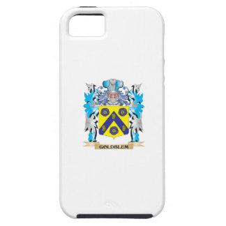Escudo de armas de Goldblum - escudo de la familia iPhone 5 Case-Mate Cárcasa