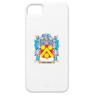 Escudo de armas de Golding - escudo de la familia iPhone 5 Case-Mate Funda