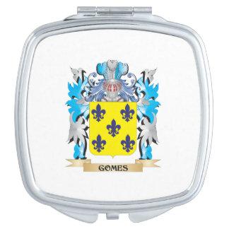 Escudo de armas de Gomes - escudo de la familia Espejo De Maquillaje