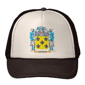 Escudo de armas de Gomes - escudo de la familia Gorra