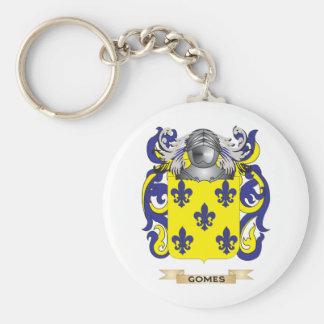 Escudo de armas de Gomes (escudo de la familia) Llavero Redondo Tipo Pin