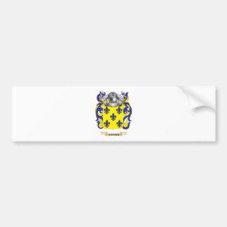 Escudo de armas de Gomes (escudo de la familia) Pegatina Para Auto