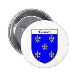 Escudo de armas de Gómez/escudo de la familia Pin