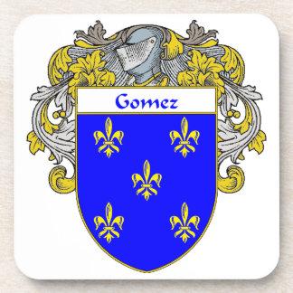 Escudo de armas de Gómez/escudo de la familia Posavasos De Bebidas