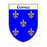 Escudo de armas de Gómez/escudo de la familia Postal