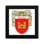 Escudo de armas de Gonzales/escudo de la familia Caja De Recuerdo