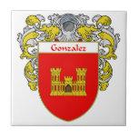 Escudo de armas de Gonzalez/escudo de la familia Azulejo