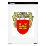 Escudo de armas de Gonzalez/escudo de la familia Pegatina Skin Para iPad 3