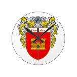 Escudo de armas de Gonzalez/escudo de la familia Reloj De Pared