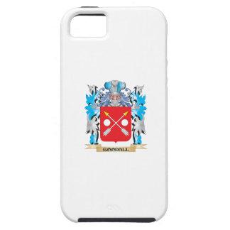 Escudo de armas de Goodall - escudo de la familia iPhone 5 Case-Mate Cobertura