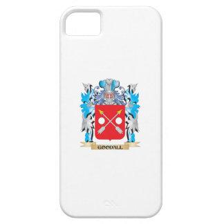 Escudo de armas de Goodall - escudo de la familia iPhone 5 Carcasas