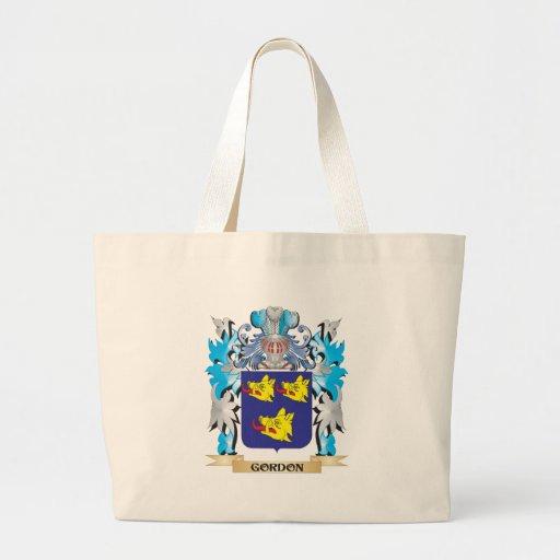 Escudo de armas de Gordon - escudo de la familia Bolsas Lienzo