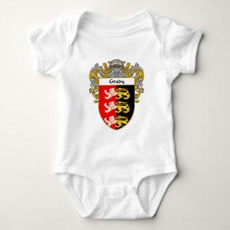 Escudo de armas de Grady (cubierto) Body Para Bebé