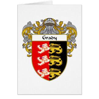 Escudo de armas de Grady (cubierto) Tarjeta De Felicitación