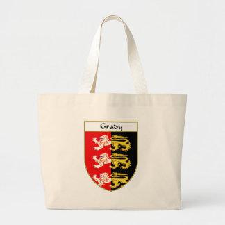 Escudo de armas de Grady/escudo de la familia Bolsa De Tela Grande