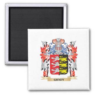 Escudo de armas de Grady - escudo de la familia Imán Cuadrado