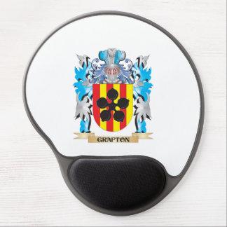 Escudo de armas de Grafton - escudo de la familia Alfombrillas De Raton Con Gel