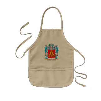 Escudo de armas de Grainger - escudo de la familia Delantal Infantil