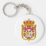 Escudo de armas de Granada (España) Llavero Personalizado