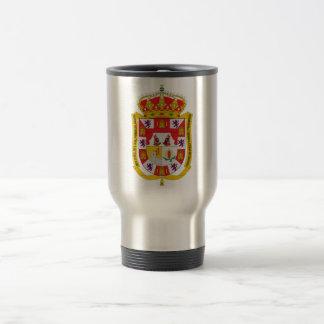 Escudo de armas de Granada (España) Taza De Viaje