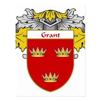 Escudo de armas de Grant (cubierto) Tarjetas Postales