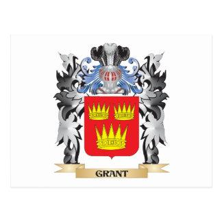 Escudo de armas de Grant - escudo de la familia Postales