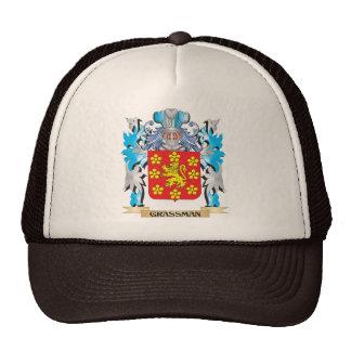 Escudo de armas de Grassman - escudo de la familia Gorros